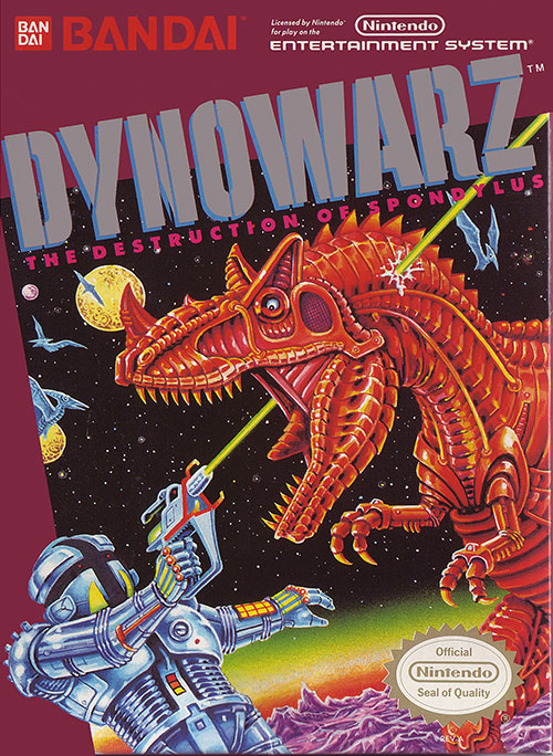 Dynowarz Box Art