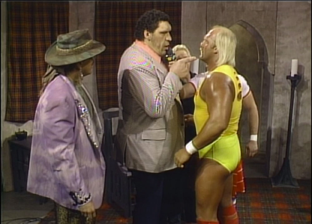 Andre Challenges Hogan for the WWF Championship