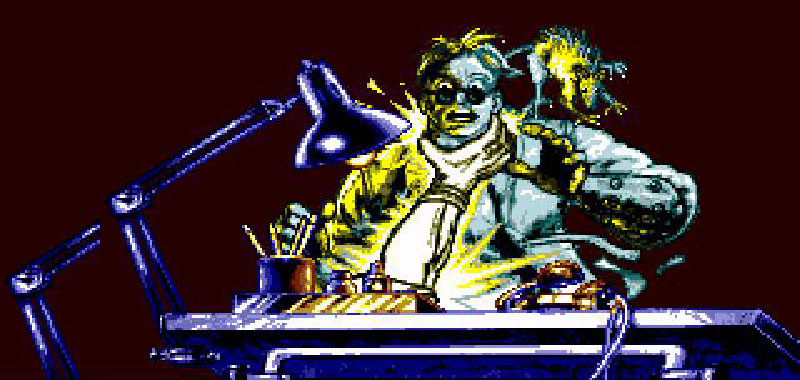Screenshot from Comix Zone on Sega Genesis