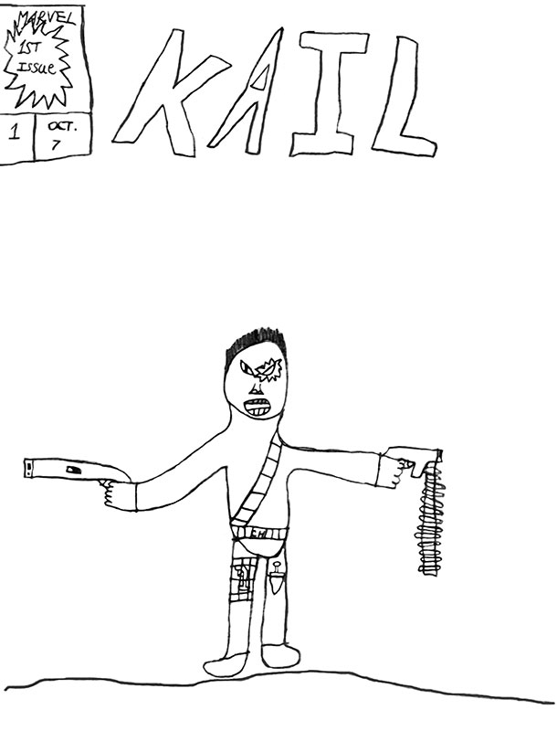 Kail #1 Cover Art