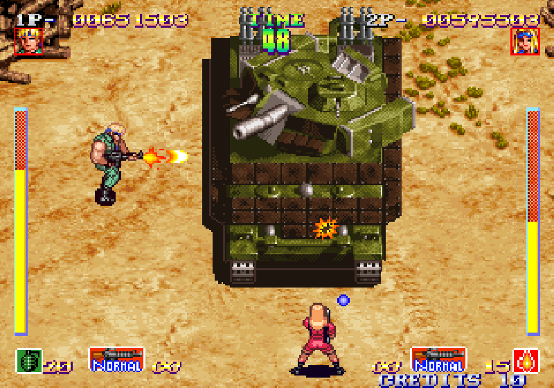 Shock Troopers screenshot