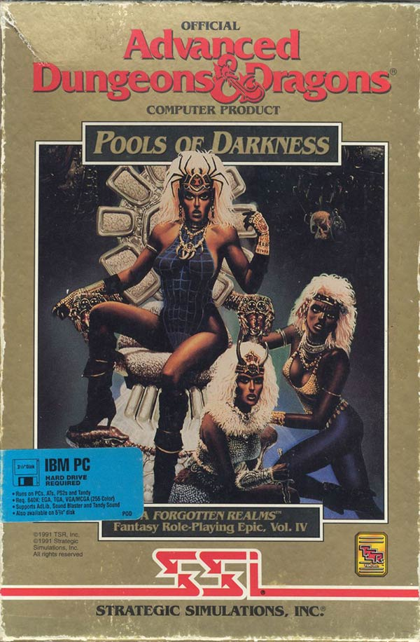 Pools of Darkness Box Art
